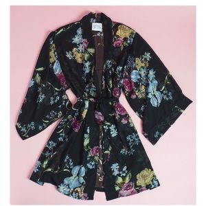 Helena Quinn Custom Floral Kimono